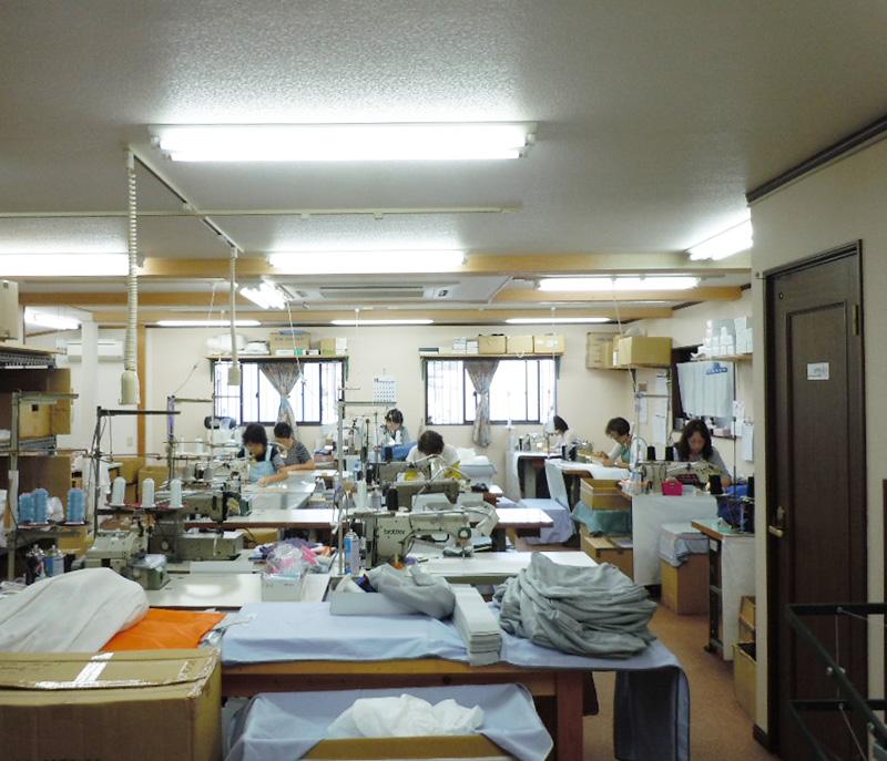 横須賀工場(縫製)